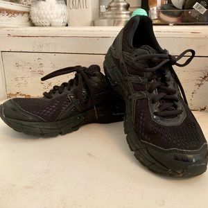 Black ASICS Running Shoes